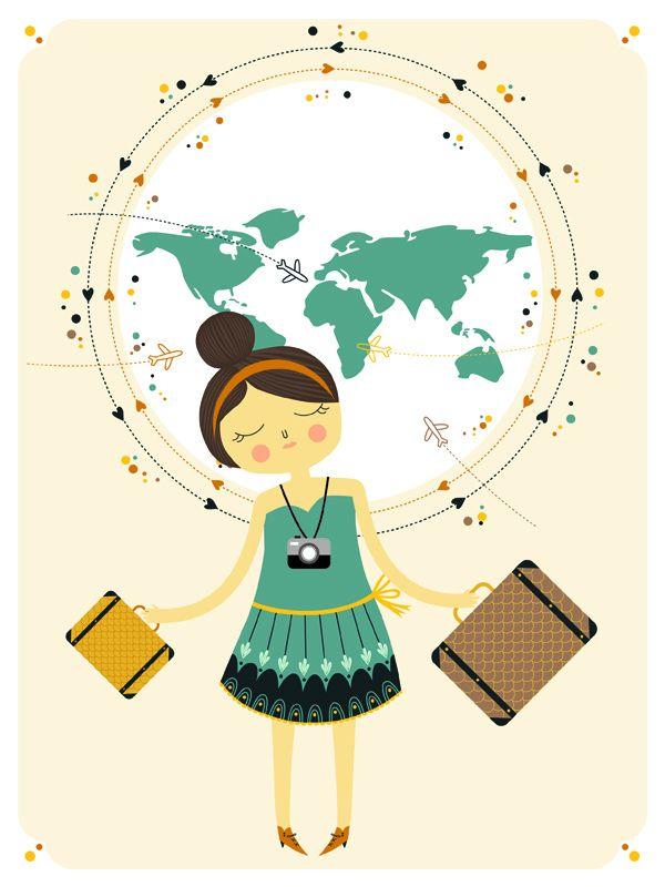 imagine myself travelling....