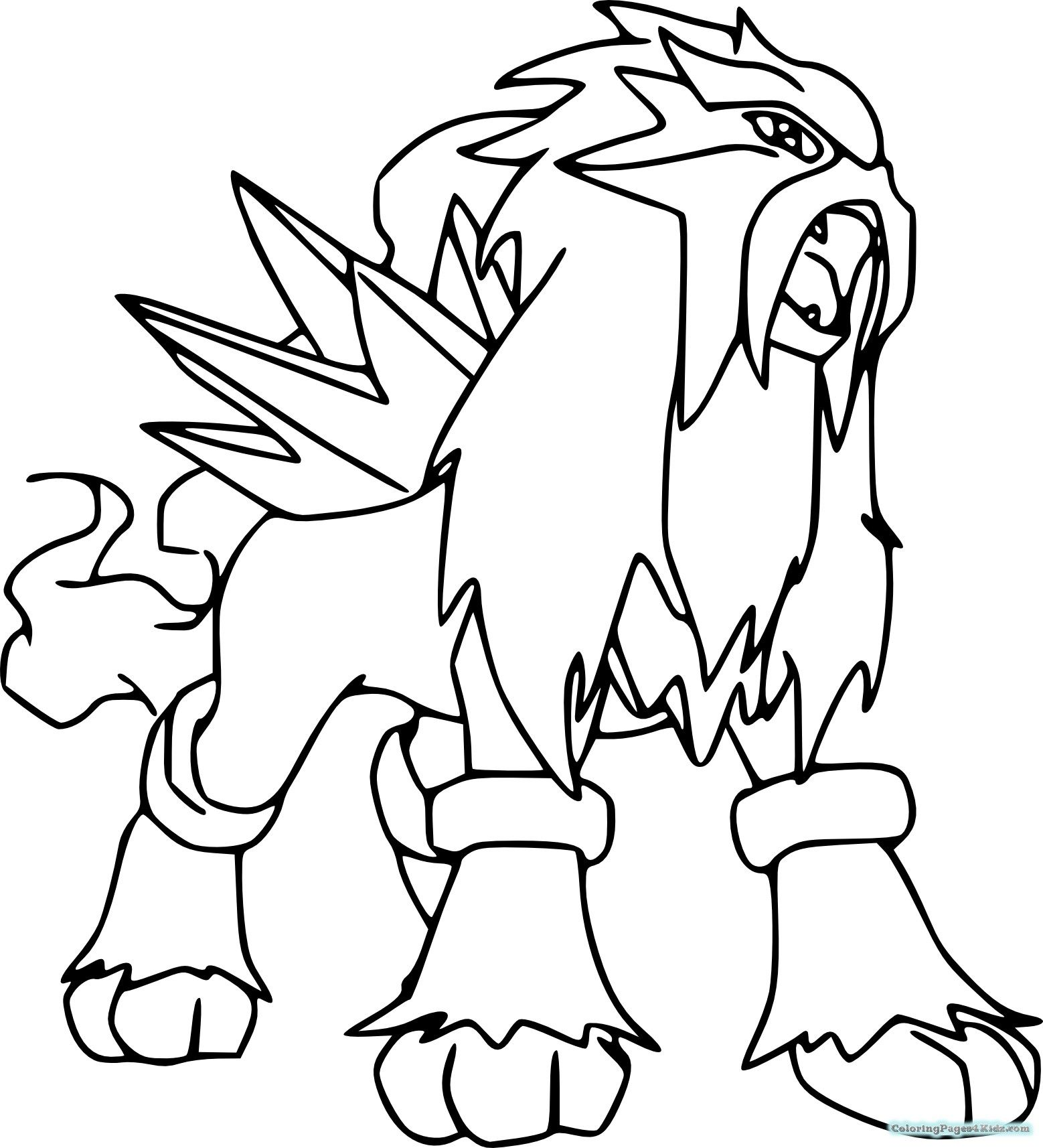 Legendary Pokemon Coloring Pages Free Http Www