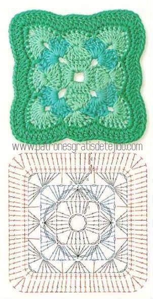 Pin von Hana Votočková auf Crochet tutorial | Pinterest | Omas ...