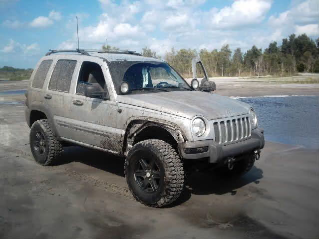 2006 Jeep Liberty Custom Fender Flares