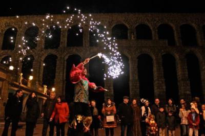 Carneval in Segovia, Spain