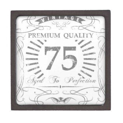 75th Birthday Gag Gift Box