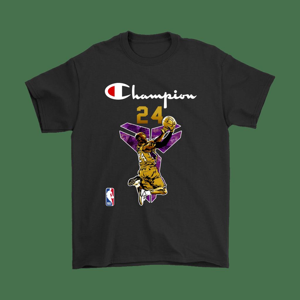 Kobe Bryant NBA Champions Logo Mashup Shirts in 2020 (With
