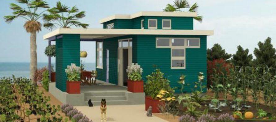 Planos y Diseño para una Casa pequeña de Campo Pinterest Casas