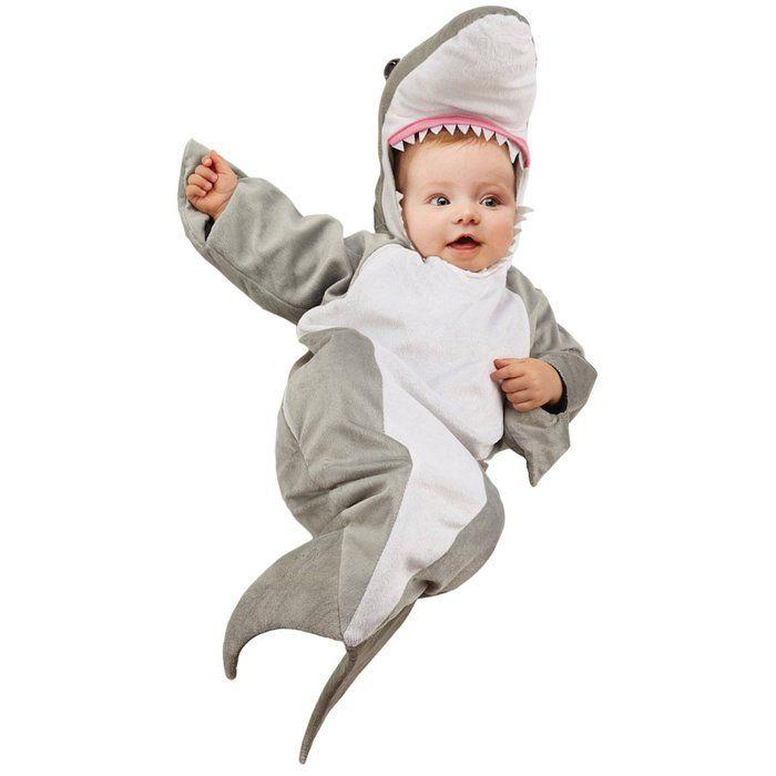 Shark Bunting Infant Costume Infant (Infant (0-6)