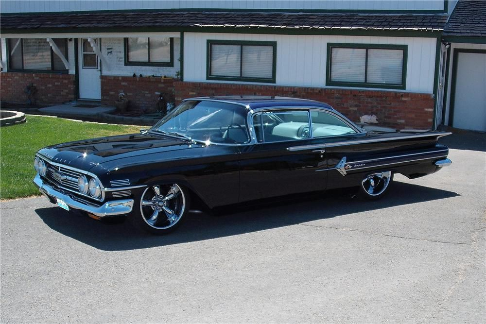 1960 Chevrolet Impala Custom 2 Door Hardtop Hot Wheels Chevrolet