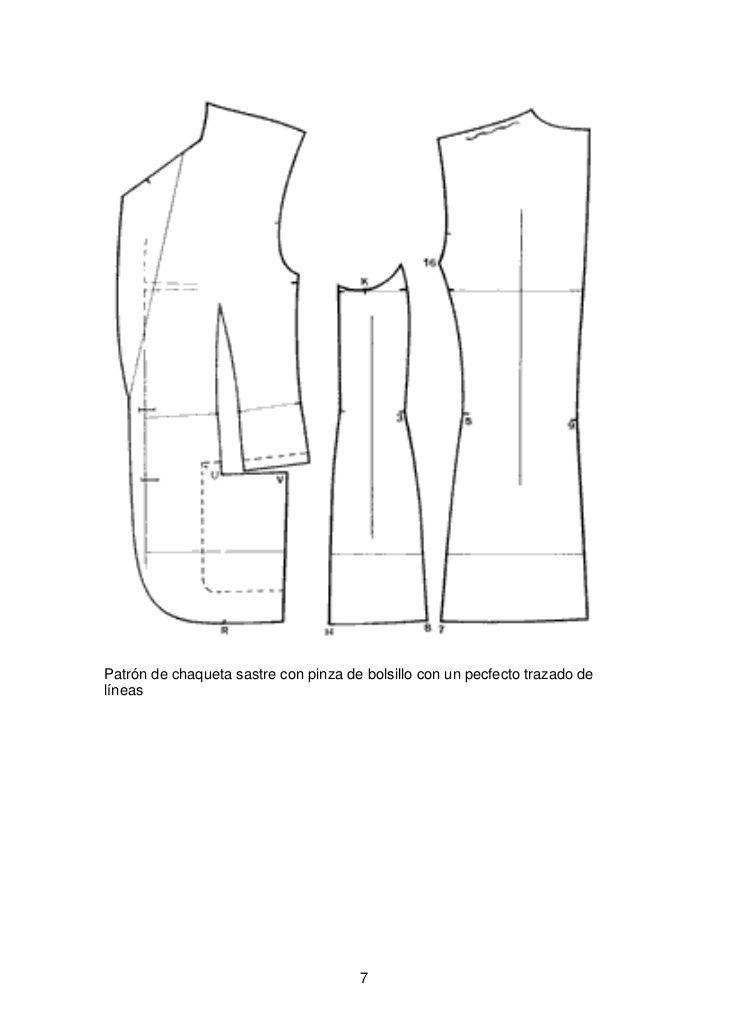 Resultado de imagen para patrones de sacos para hombre | Sastrería y ...