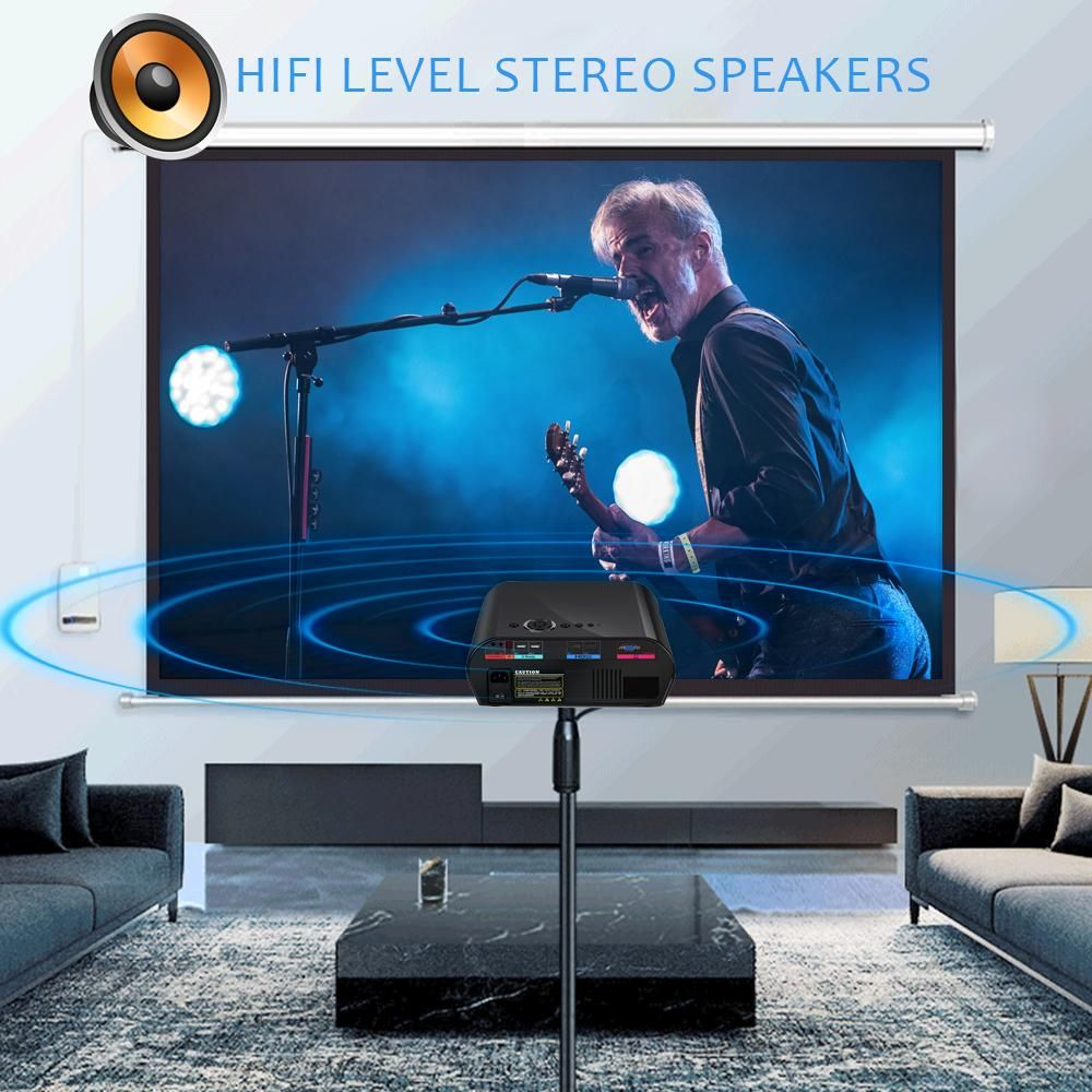 Goodee GP901 High Brightness & Resolution LCD Video