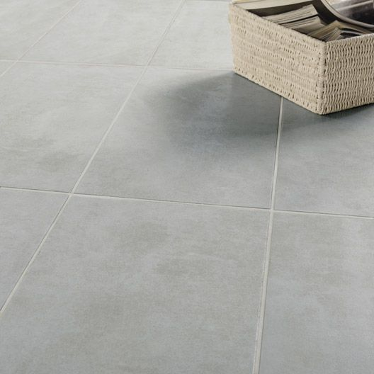 Carrelage int rieur factory artens en gr s gris 30 x 60 cm id es parquet - Cire parquet leroy merlin ...