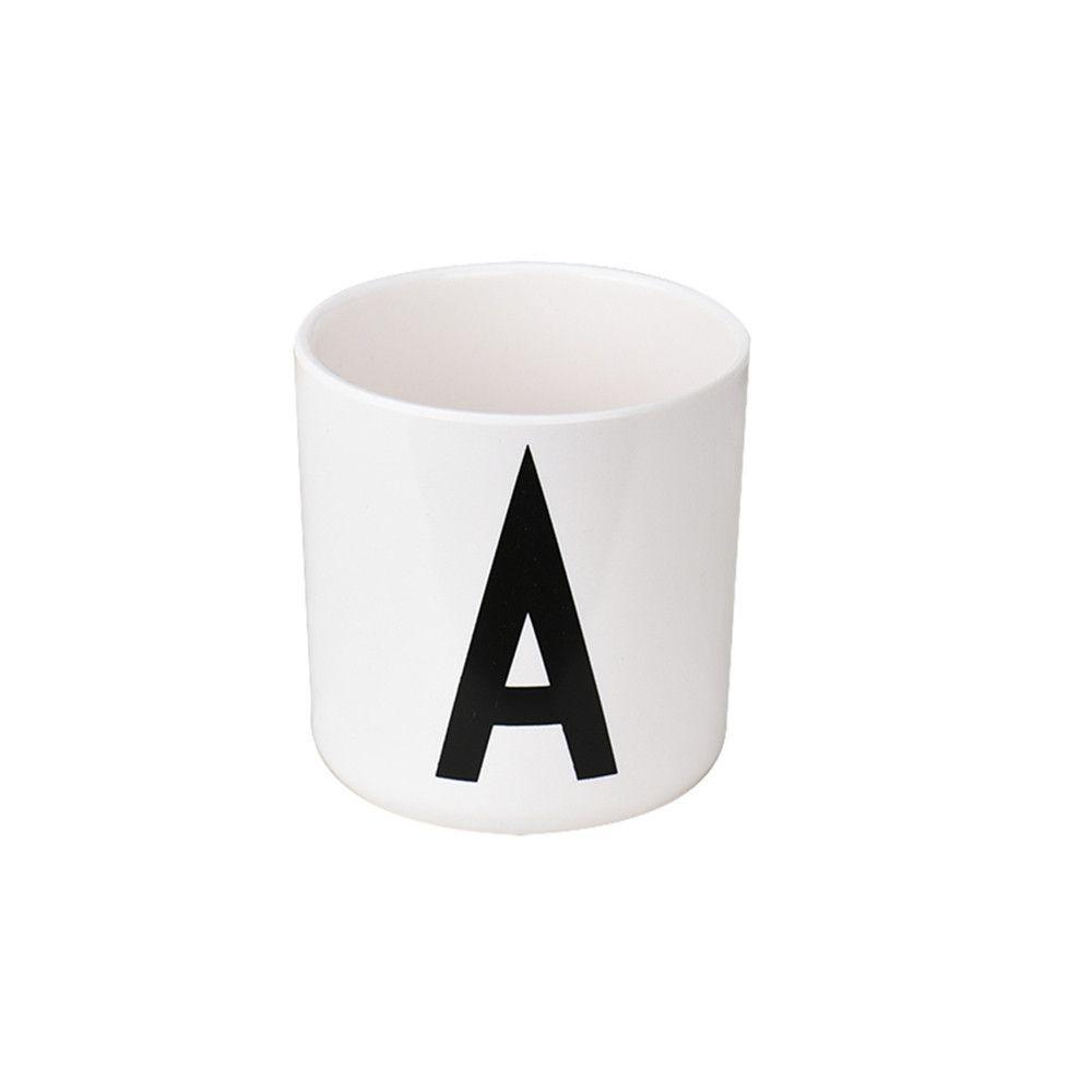 Lovely Milk Ceramic Tea Cup Alphabet Mug Design A To Z 26