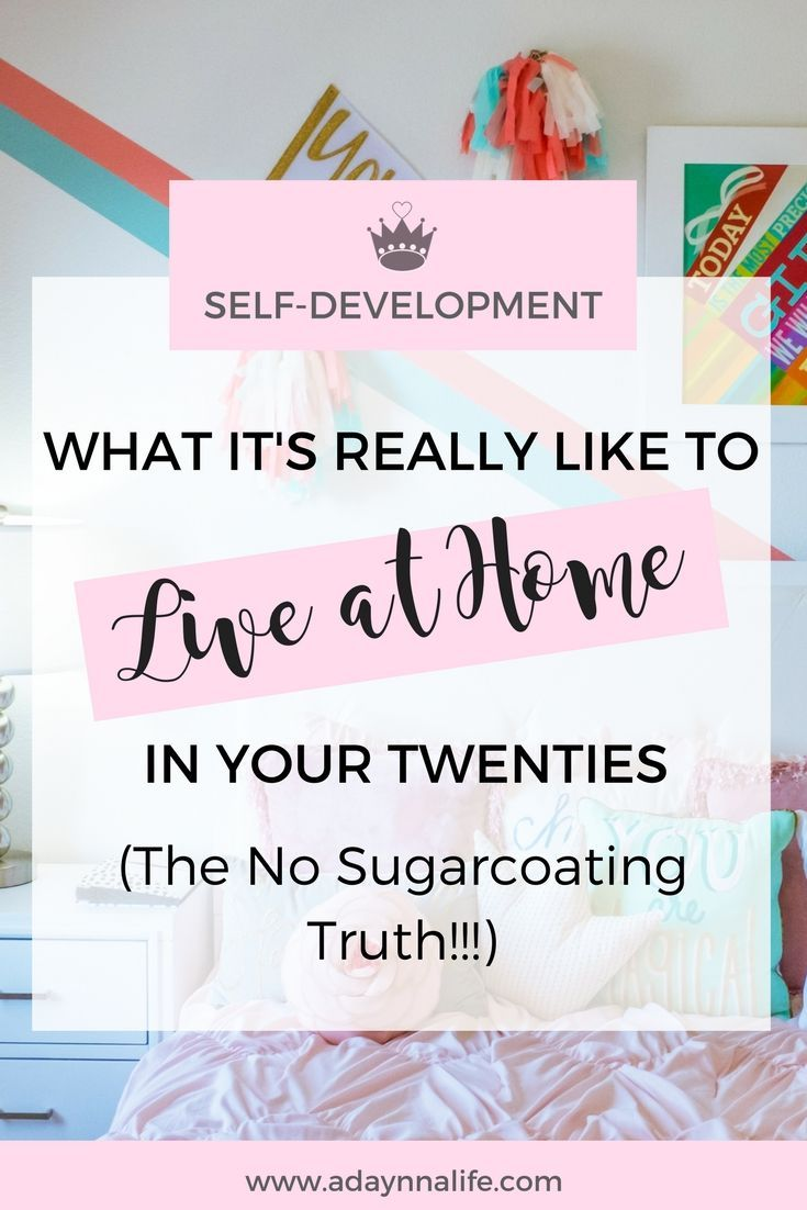 Live At Home | Twenty Something | 20 Something | Millennial Advice | Frugal