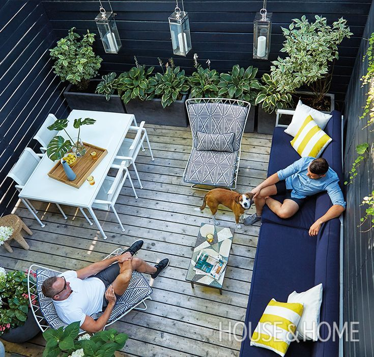 Condo Decorating Ideas: Small Space: A 225-Square-Foot Backyard (With Images