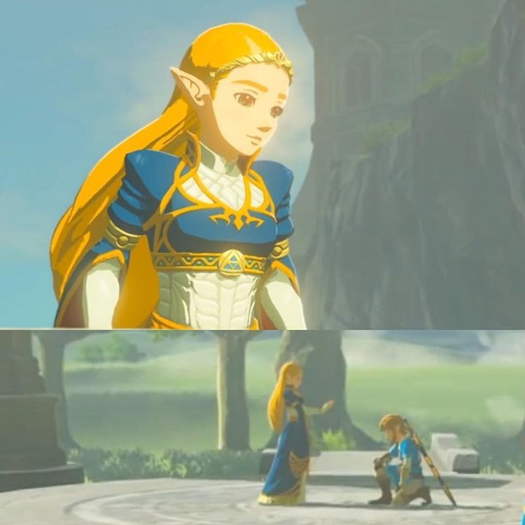 Princess Zelda Breath Of The Wild Legend Of Zelda Zelda Cosplay Breath Of The Wild