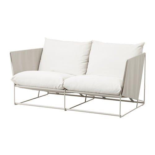 2er-Sofa, drinnen/draußen HAVSTEN beige   Budenzauber   2er ...