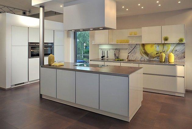 Inselküche weiß (Brigitte Küchen)   kitchen visions   Pinterest ...