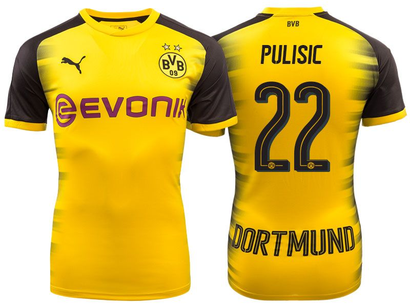 9954824c9 Borussia Dortmund 2017-18 Champions League Shirt christian pulisic ...