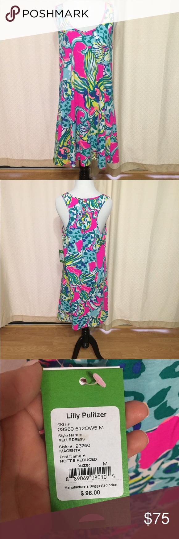 Lilly Pulitzer Dress Medium Lilly Pulitzer dress.  Brand new with tags Lilly Pulitzer Dresses