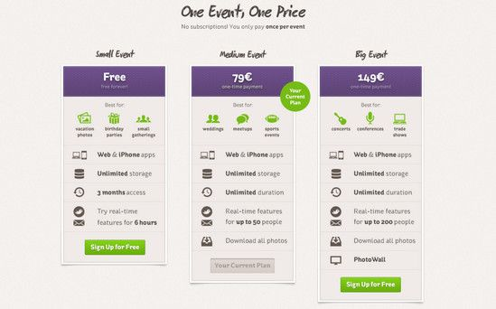 Use of Pricing Tables in Web Design - Starkly Comparison Pricing - comparison grid template