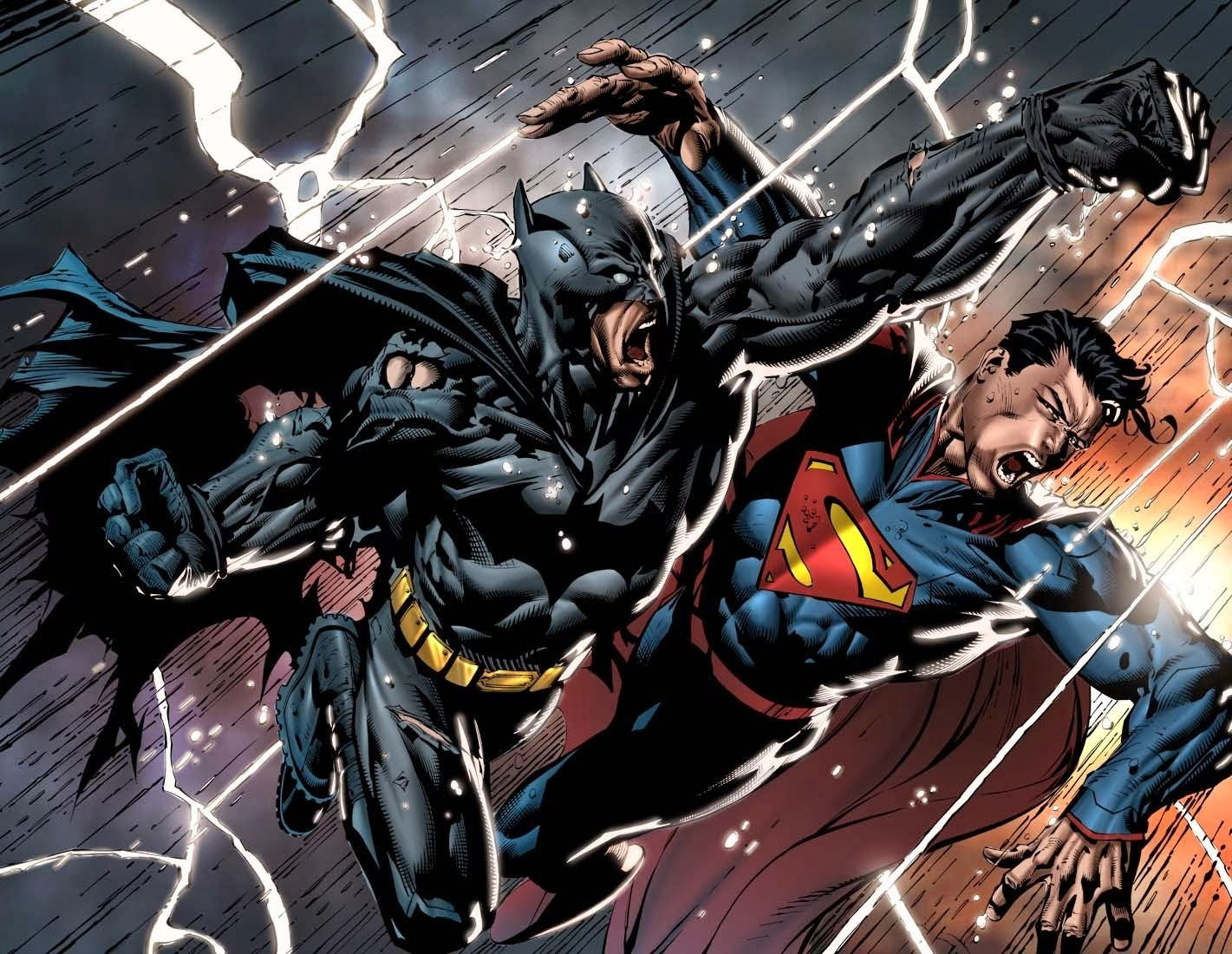 Mejores combates de Batman y Superman en los cómics - http://yosoyungamer.com/2016/03/mejores-combates-de-batman-y-superman-en-los-comics/