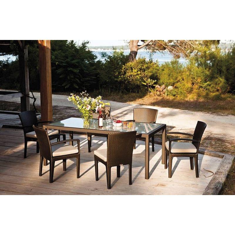 PANAMA DEDON Armlehnstuhl • DEDON PANAMA Outdoor Gartenmöbel | DEDON ...