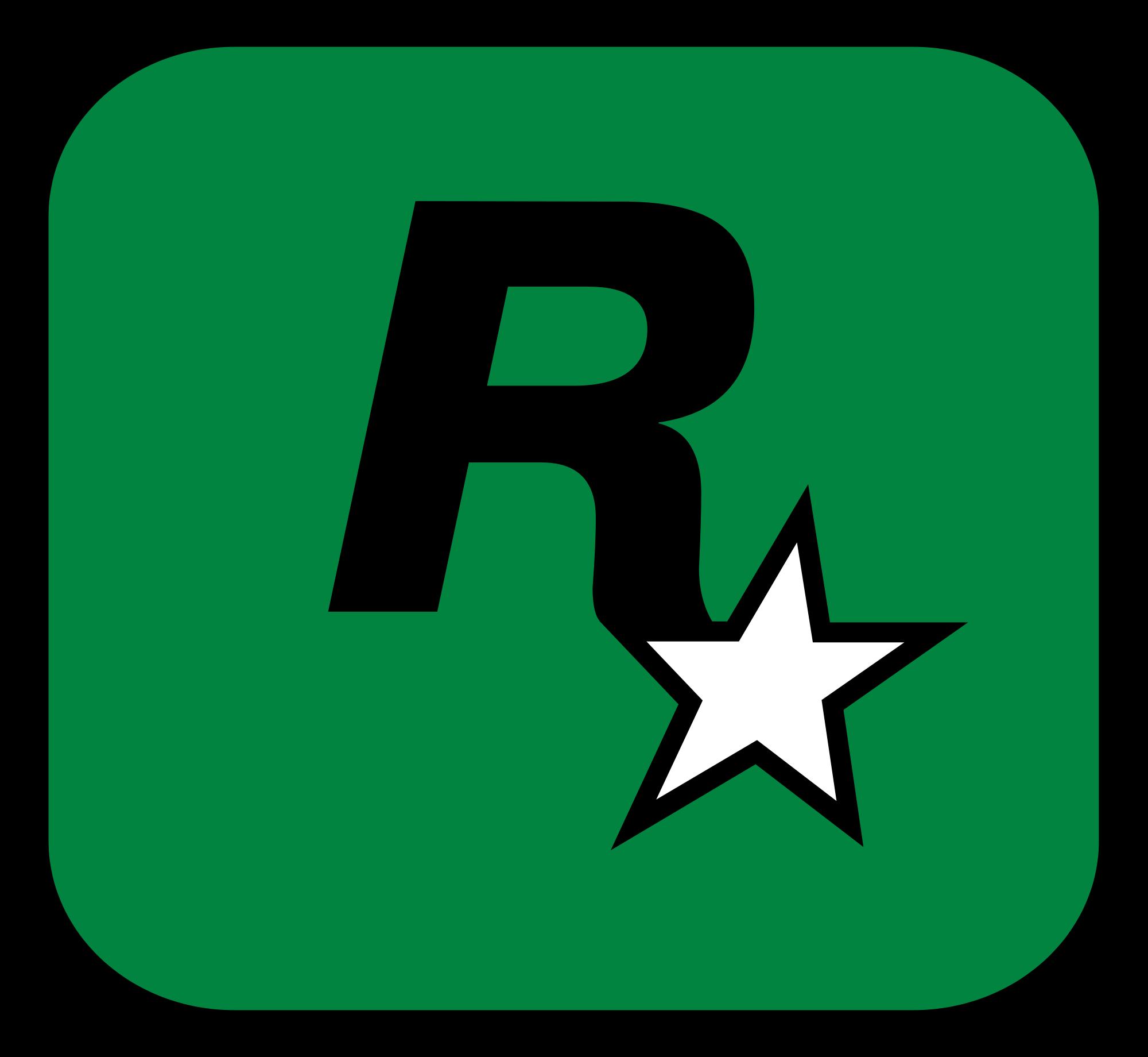 rockstar games logo - green | Boy | Rockstar games logo