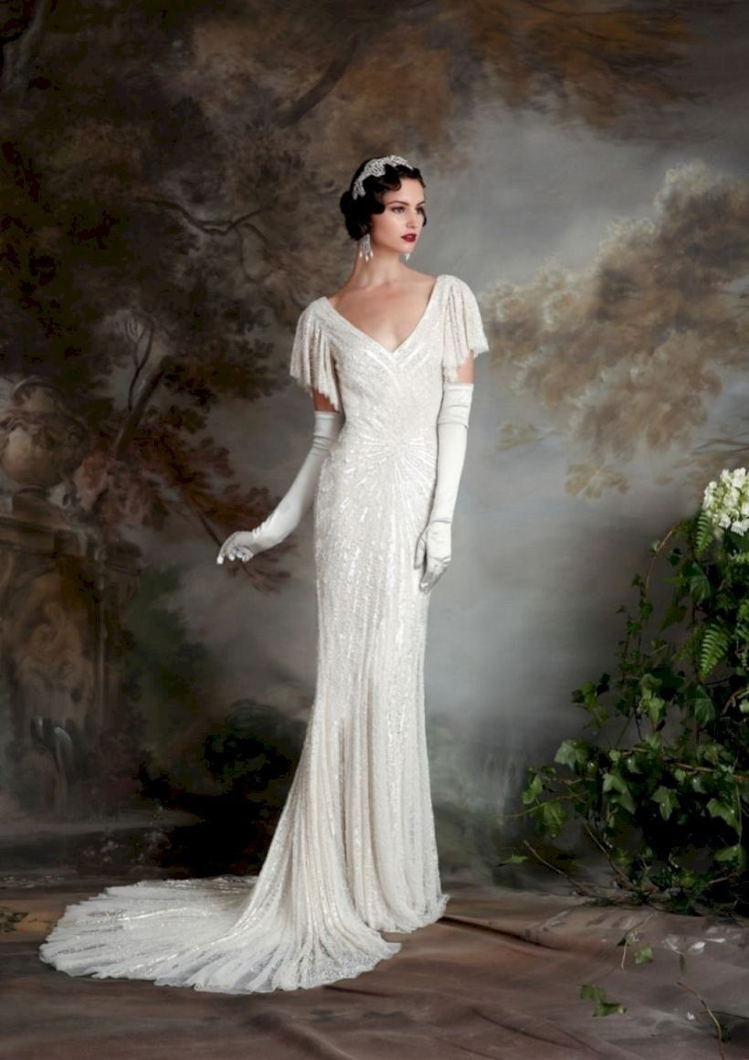 18 Elegant Vintage Wedding Dresses to Inspire   Upoutfit.com ...