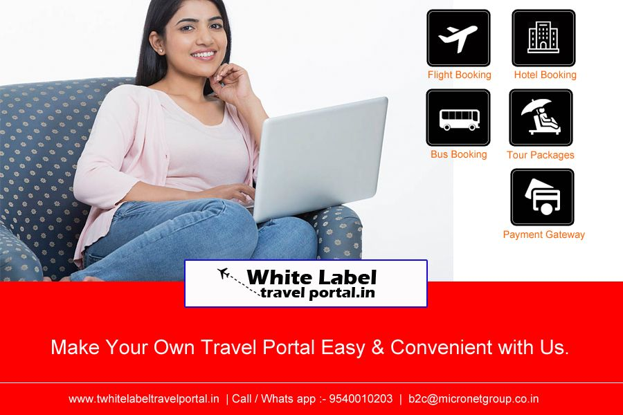 Make your online 💻💻Travel Business 🖥🔎🌐B2C Website in