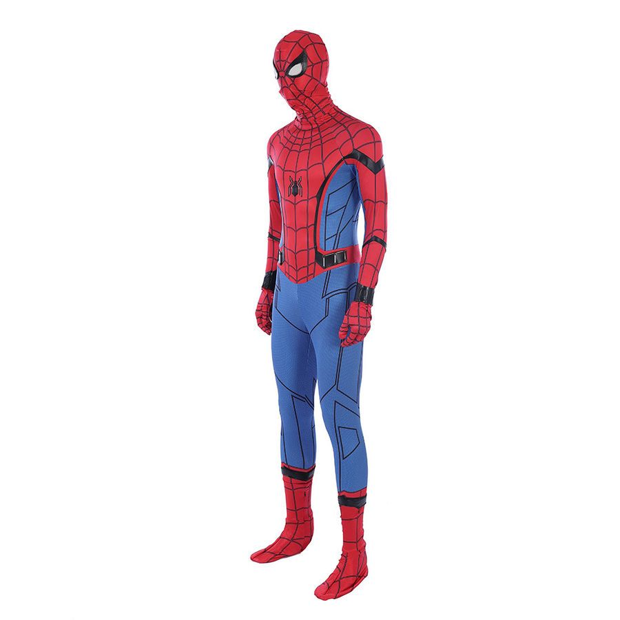 Details about DFYM Spiderman Homecoming Cosplay Costume Spider man Zentai Suit Halloween - Spiderman costume, Cosplay costumes, Spiderman - 웹