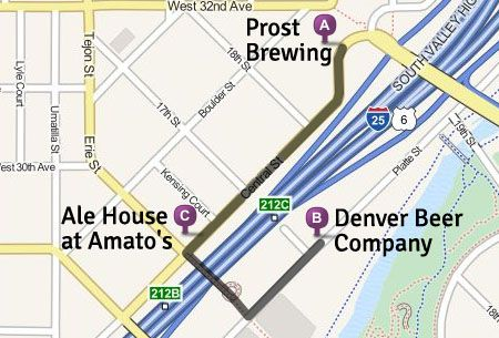 Map of LoHi Walking TourMaps, Suggested Routes & Self-Guided Tours ...