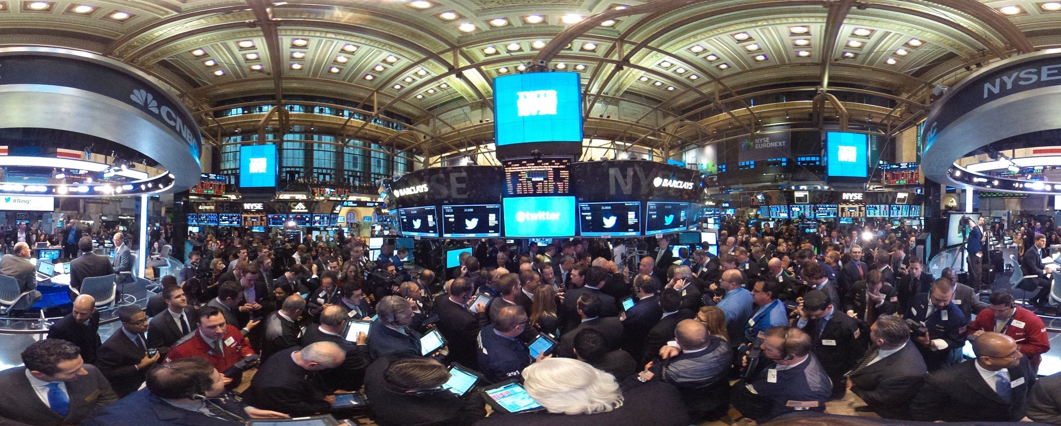Nyse Trading Floor 2014
