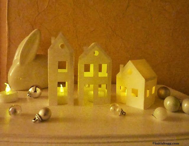 DIY : un village en papier lumineux à imprimer !