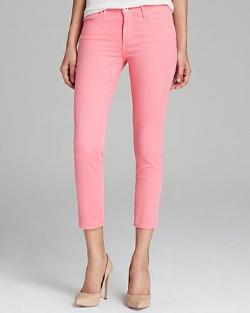 e4d7cc748f AG Adriano Goldschmied Jeans - Exclusive Prima Crop in Pink ...