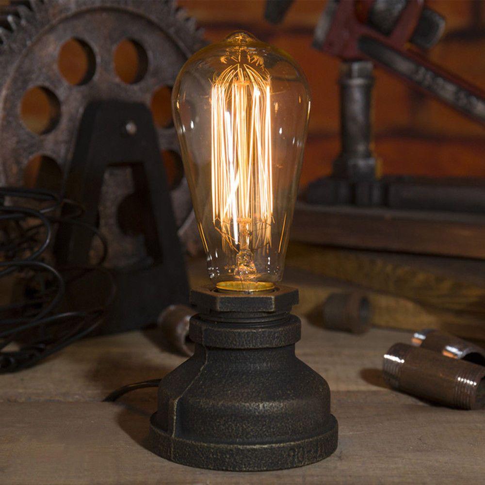 Steampunk Style Tischlampe Schreibtisc Design Retro Vintage Tischleuchte  Lampe | Möbel U0026 Wohnen, Beleuchtung,