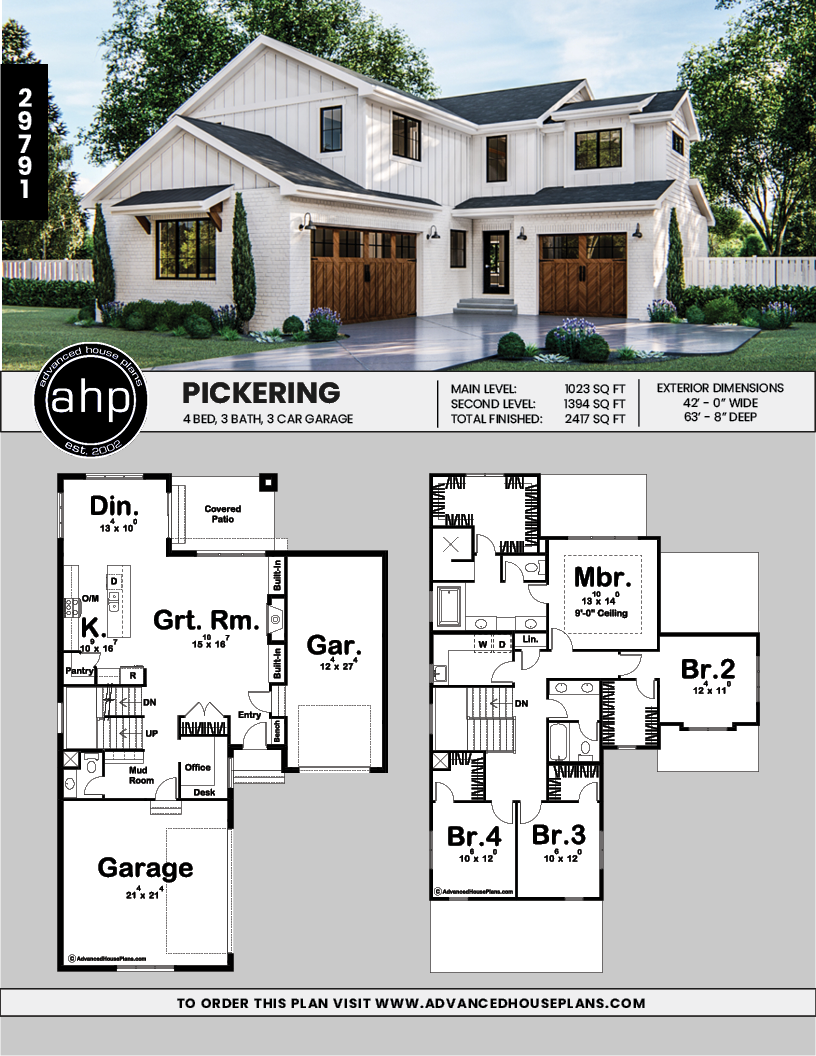 Pin On Modern Farmhouse Plan Collection