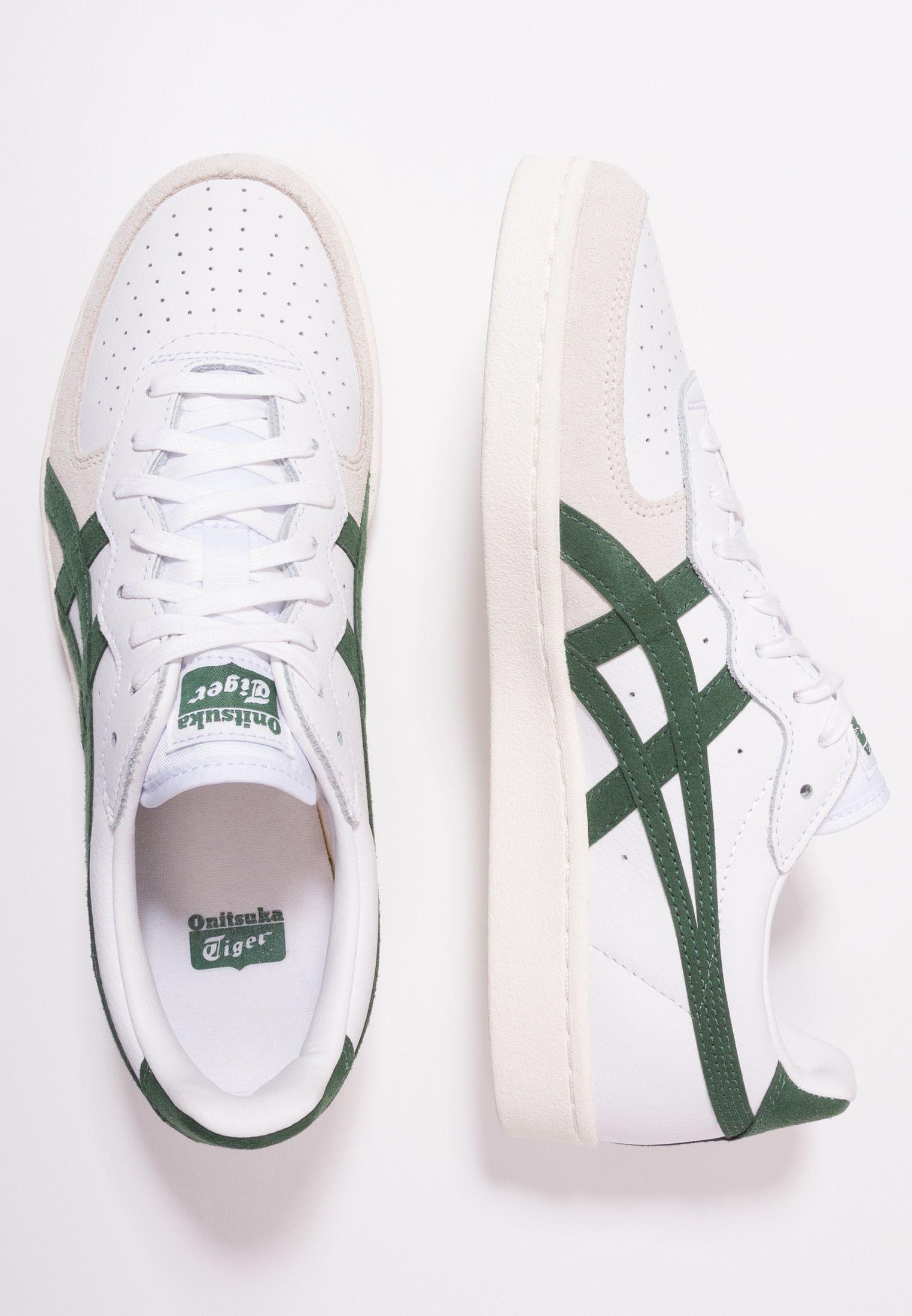 GSM White Hunter Green Sneakers Onitsuka Tiger | WOMEN