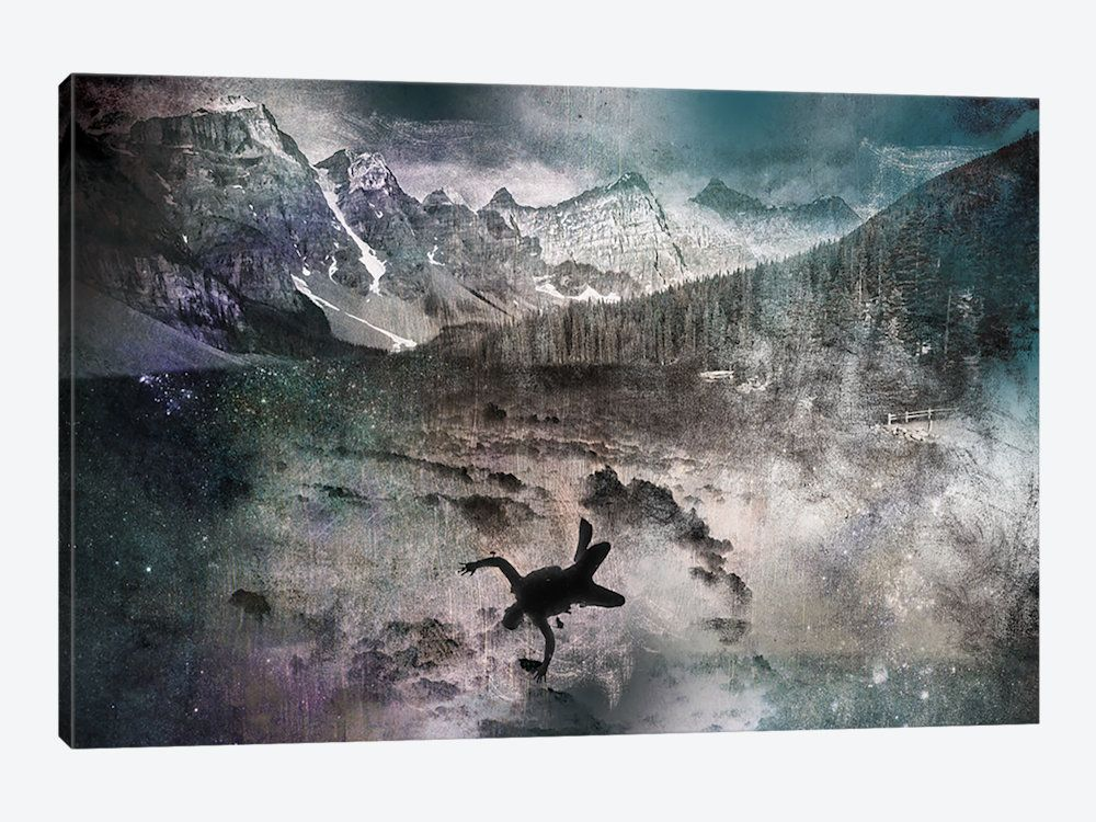 Into the abyss canvas wall art by 5by5collective icanvas