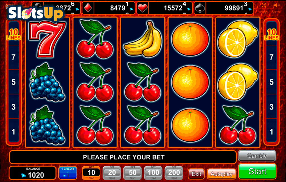 Play free casino slot