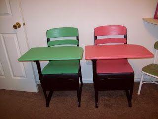 Old Fashioned School Desks School Desks Repurposed Furniture Furniture