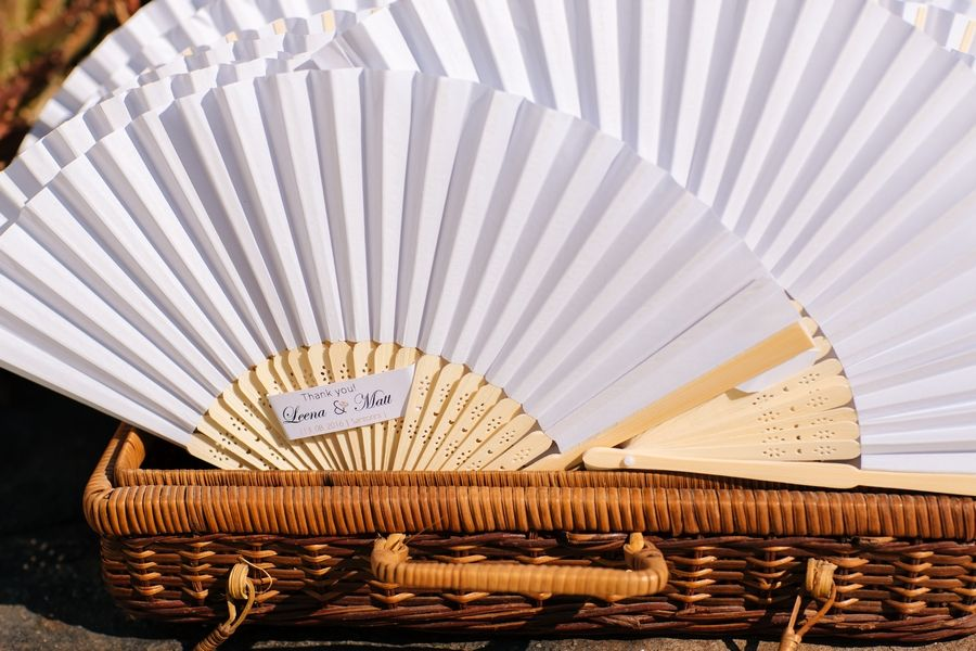 The Best Gift For Summer Time Favors Fans Wedding Planner