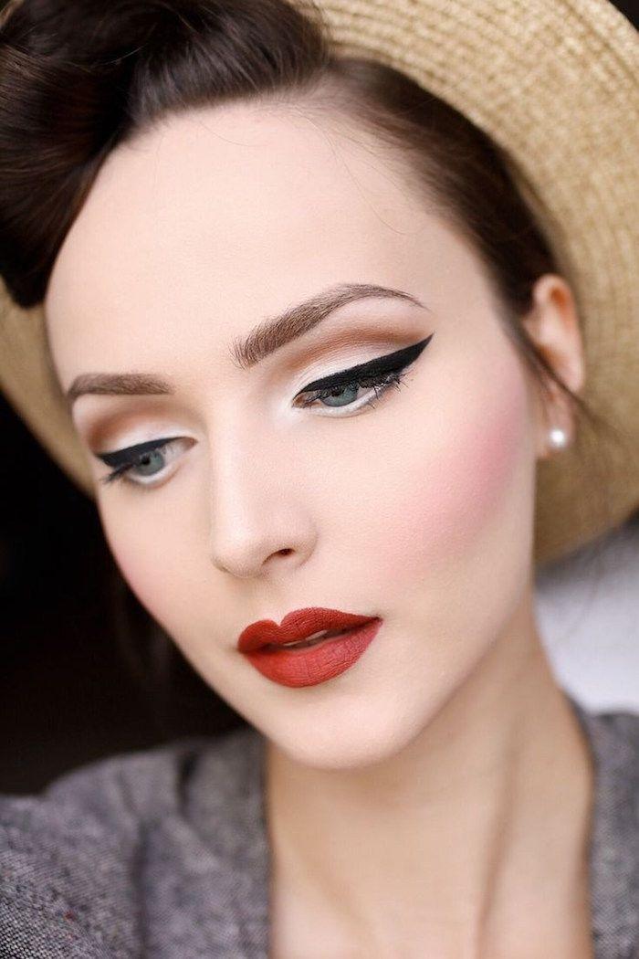 Maquillage pin up le style rétro des années 50