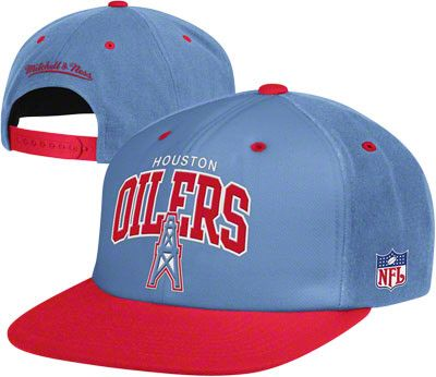Houston Oilers Throwback with Logo Snapback Hat  f3c5298c195