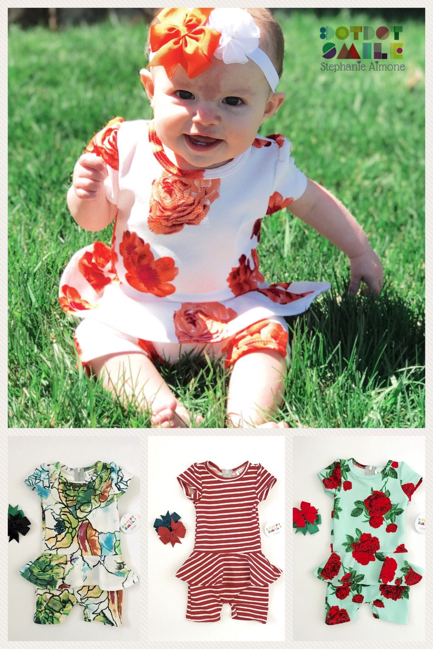 Dotdotsmile romper sweet and sassy perfect play clothes