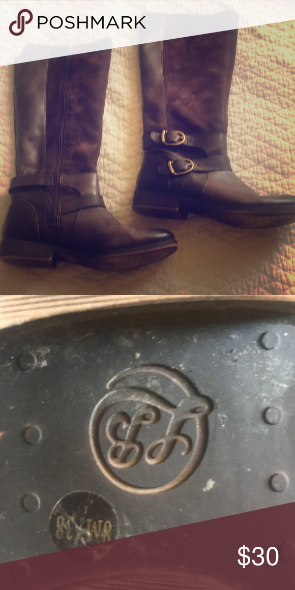 eb85f6720ea Lucky Brand Boots Brown Size 8 Practically new, SUPER comfortable ...