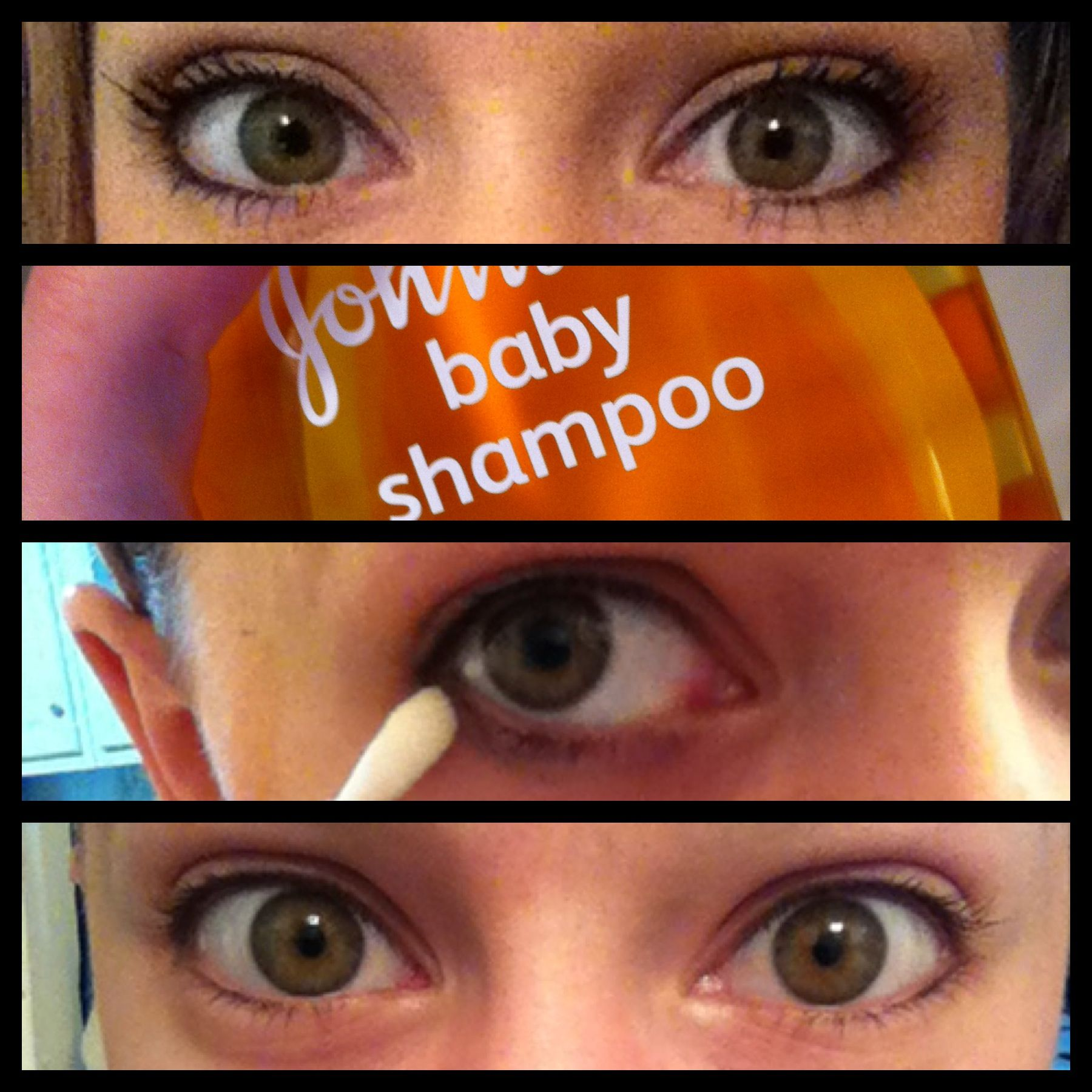 Best diy eye makeup remover is actually just baby shampoo