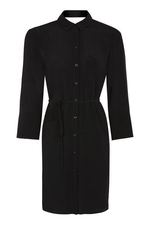 2c94a7ed5a36d Vestido De Camisa · Roupas · Camisas · Estilo · Wrap Back Shirt Dress