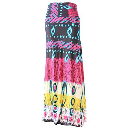 Partiss Women's Pattern Maxi Skirt