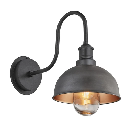 Grey//Black Ivyline Rectangular Firebowl and Console Firepit