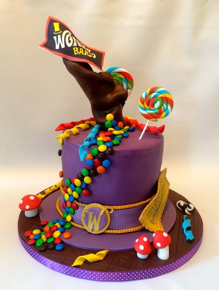 The Best Willy Wonka Cakes Magnificent Mouthfuls Cupcakes