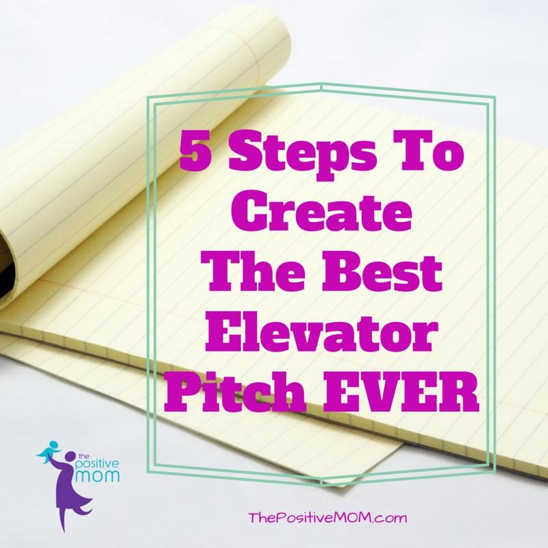 Steps To Create The Best Elevator Pitch Ever For Your Blog Or