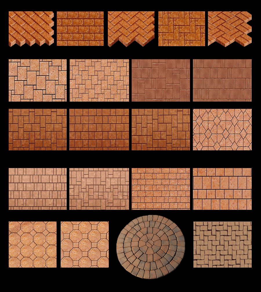 Brick Paving Patterns Paver Showroom Of Tampa Bay